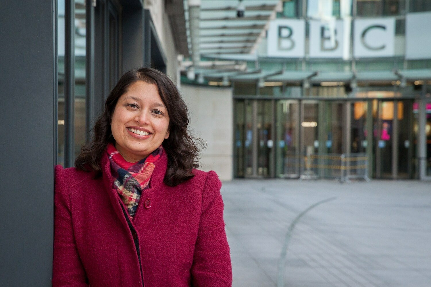 Nina Goswami: taking the lead on diversity at the BBC