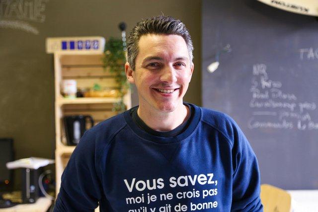 Rencontrez Alain, Co-fondateur  - Tshirt corner