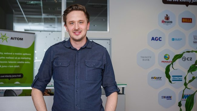 Jakub Provazník, CEO - AITOM Digital