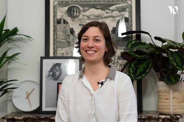 Rencontrez Cyrielle, Développeuse front-end - Troa