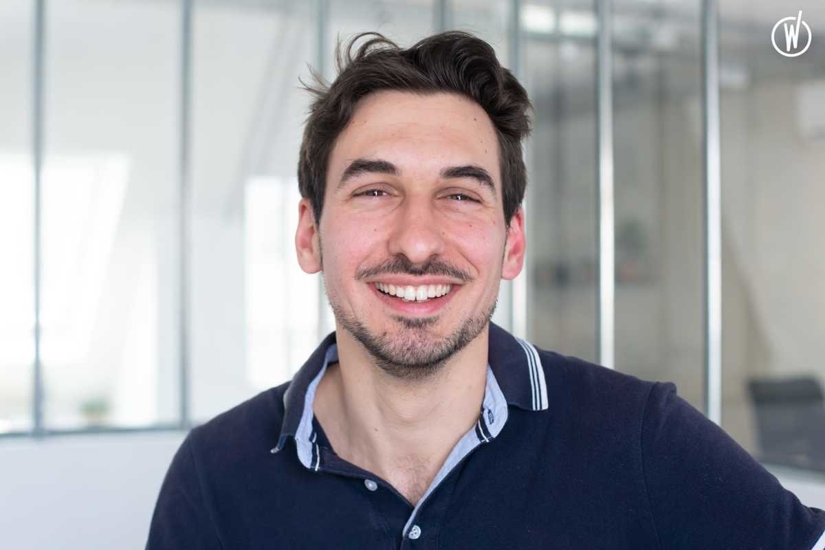 Rencontrez Damien, Full stack Developer & Scrum Master - CallDesk