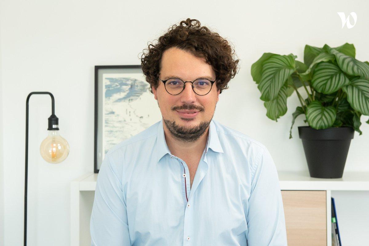 Rencontrez Laurent, Chef de projet - Calliweb