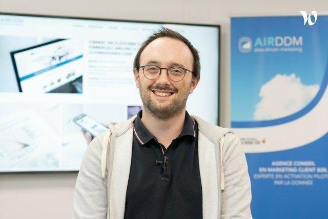 Rencontrez Guillaume, Lead développement - AIR DDM