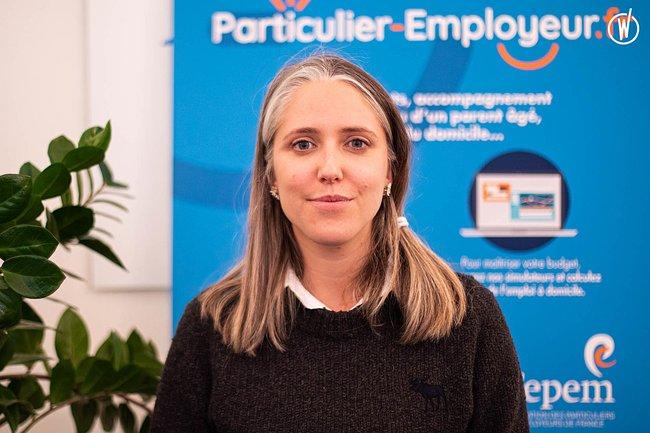 Rencontrez Anne-Sophie, Juriste - FEPEM, FEdération des Particuliers EMployeurs de France