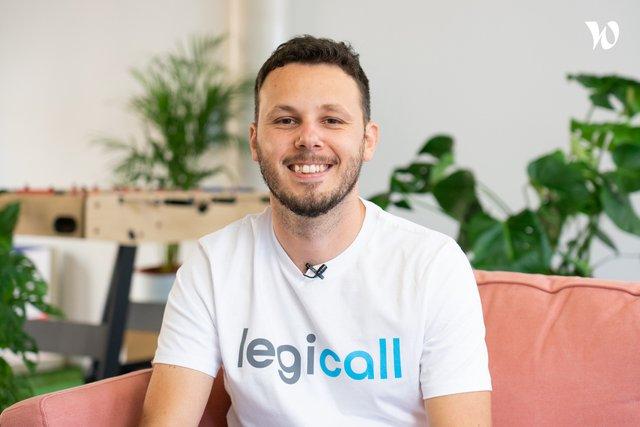 Rencontrez Jonathan , Chef de projet digital - Légicall