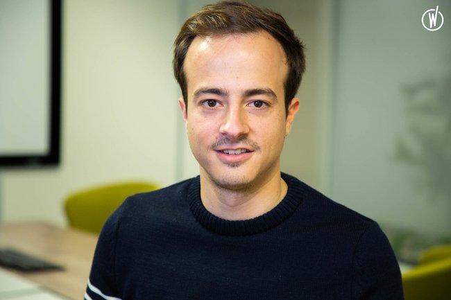 Rencontrez Alexis, Head of Product - Smile & Pay