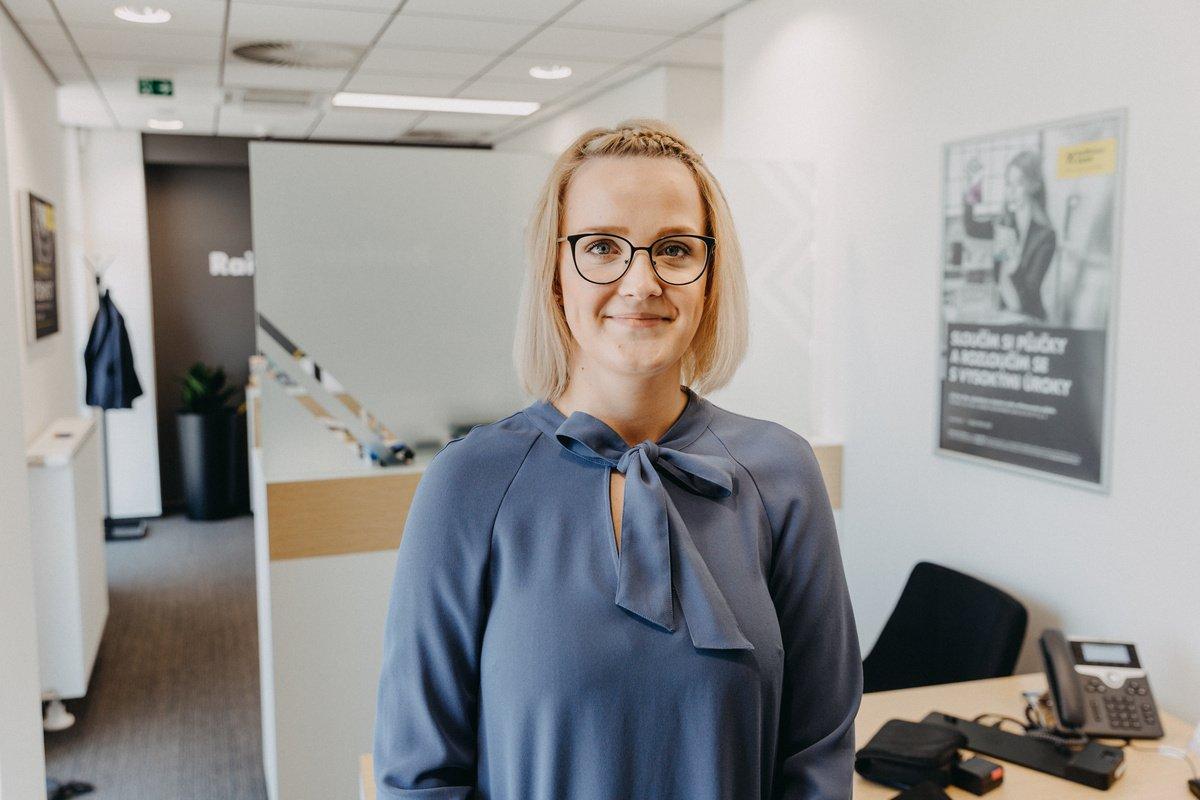 Marie Takáčová, Teamleader bankéřů - Raiffeisenbank