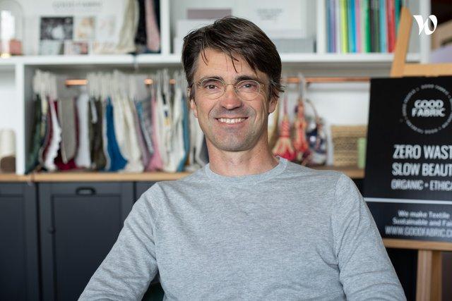 Rencontrez Louis-Marie, Cofondateur - GOOD FABRIC