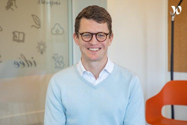 Rencontrez Frédéric, CMO - Responsable Marketing - Communication - Com'in