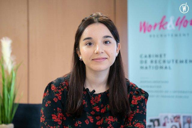 Rencontrez Nadia, Chargée de Communication & Consultante en recrutement - Work&You