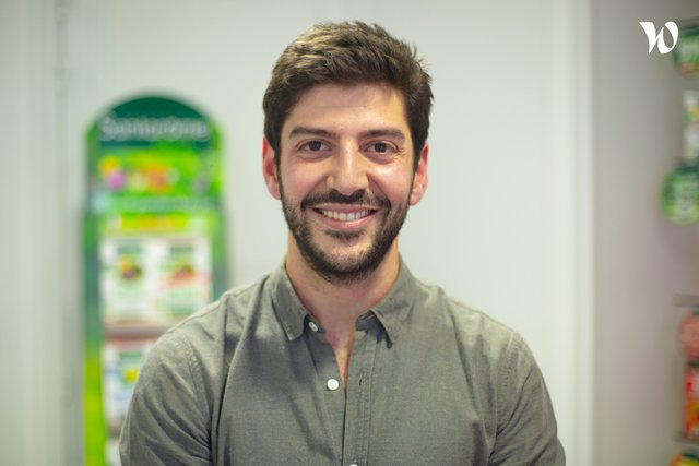 Rencontrez Benjamin, Directeur Digital - Santarome Bio