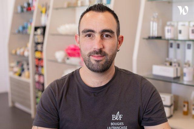 Rencontrez Florian, Responsable Maintenance - GROUPE EMOSIA - Maison Berger Paris - Devineau
