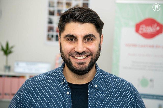 Rencontrez Damien , Co-fondateur en charge de la production & du développement commercial  - Basil