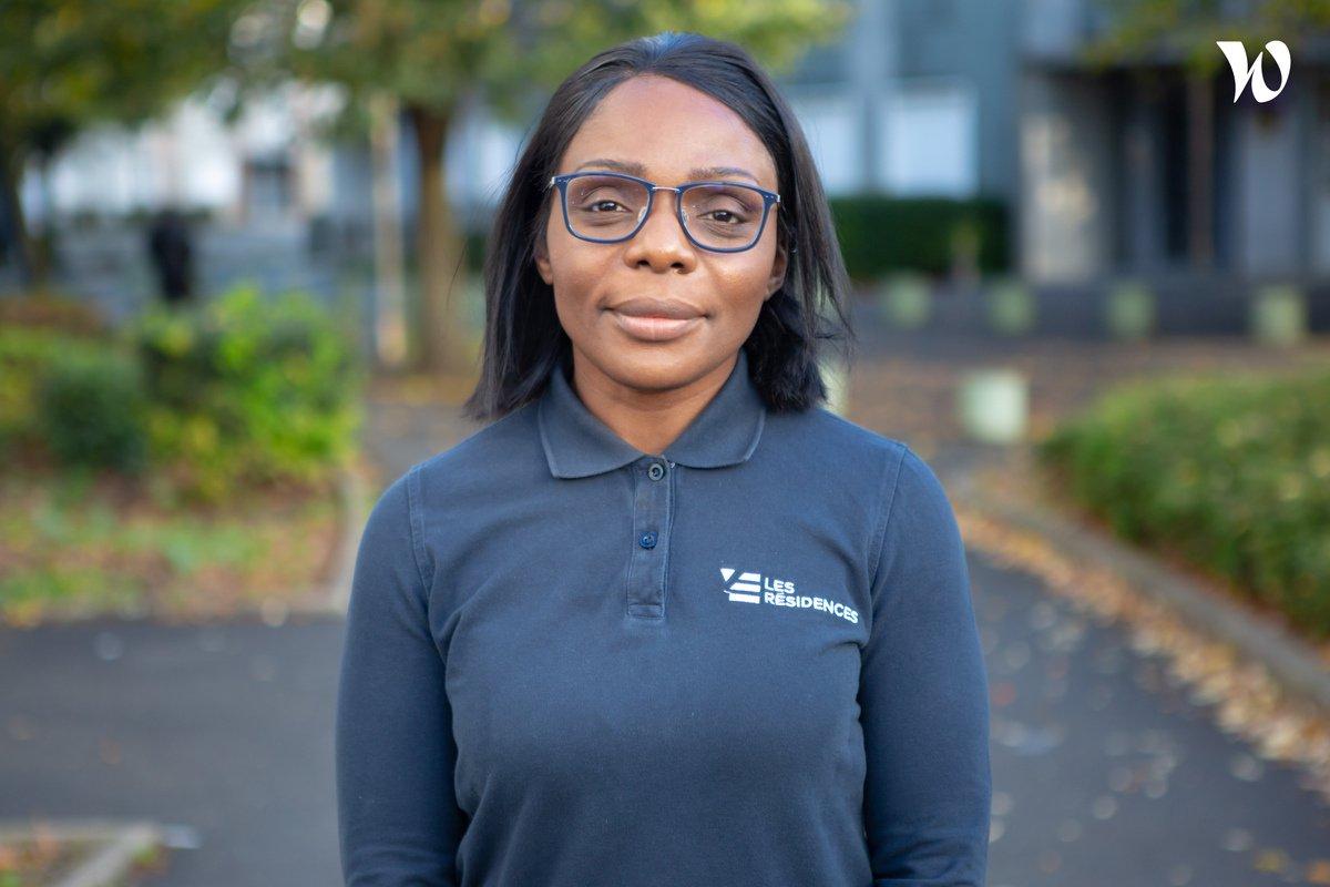 Rencontrez Lyly, Gardienne d'immeubles - Les Résidences Yvelines Essonne