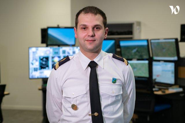 Rencontrez Sergent-Chef Kévin, Moniteur simulateur de vol - armée de l'Air et de l'Espace