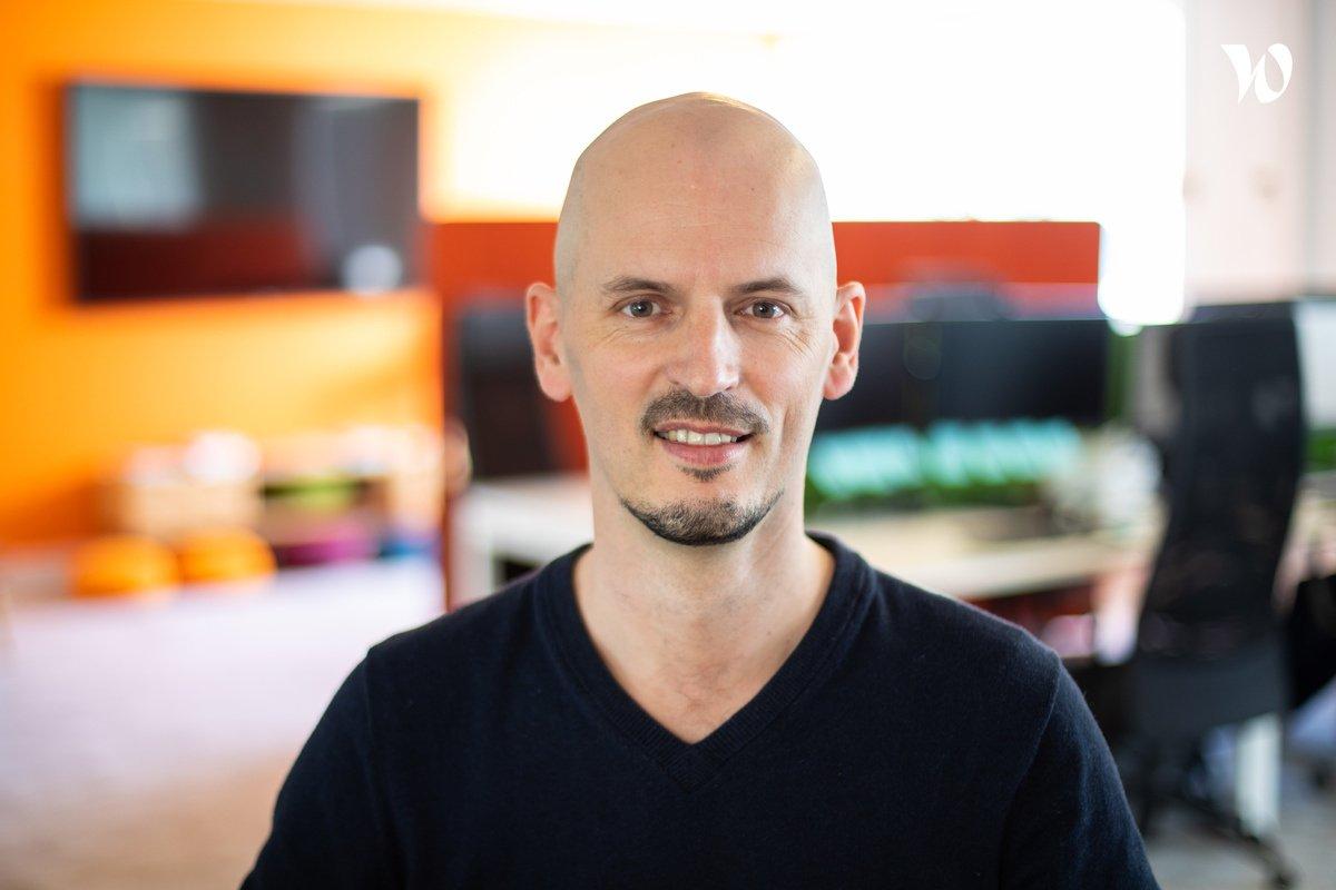 Rencontrez Benoît, CEO - Vizzit