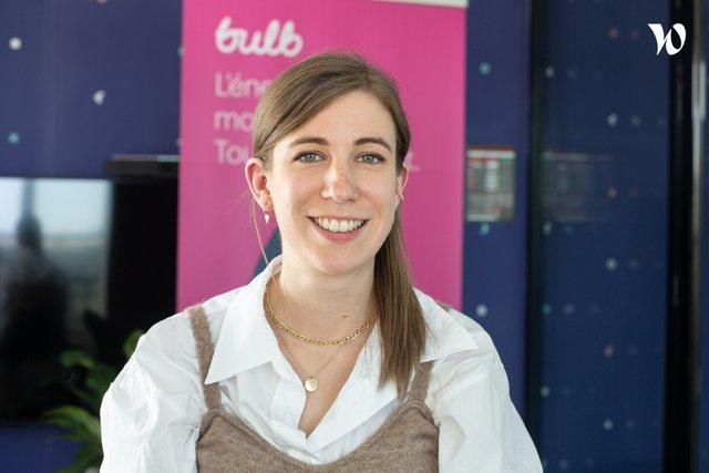 Rencontrez Eugénie, Responsable Communication - Bulb