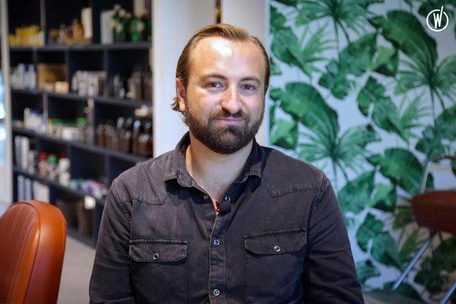 Rencontrez Benjamin, Hairstylist et Responsable Formation - MadameMonsieur