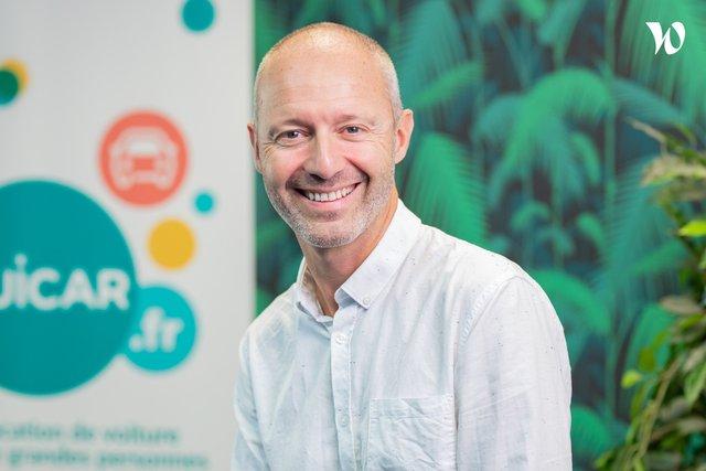 Rencontrez Benoit, CEO - Ouicar