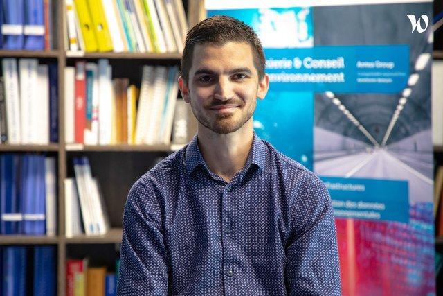 Rencontrez Pierre, Ingénieur d'études - direction Data - Antea Group