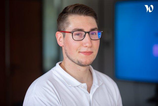 Rencontrez Lucas, Chef de projets - NOVADYS