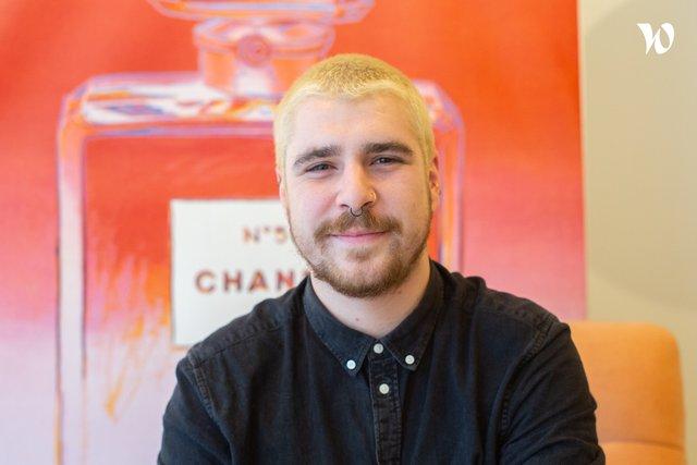 Rencontrez Maxime, Art Director & Motion Designer - Agence Bikibiki