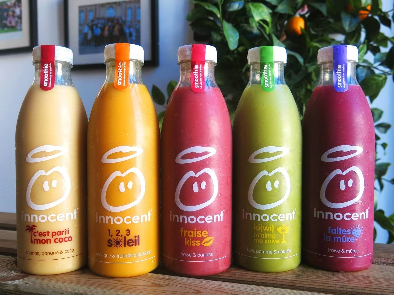 Les smoothies innocent : stars des réseaux sociaux !