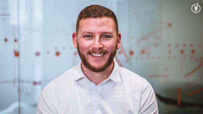 Rencontrez Jordan, Technicien Service Clients  - Quadient