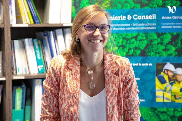 Rencontrez Marion, Ingénieure de projets - direction Internationale - Antea Group