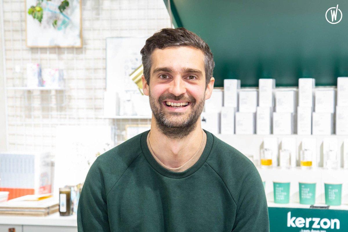 Rencontrez Pierre-Alexis, cofondateur & directeur de création - Kerzon