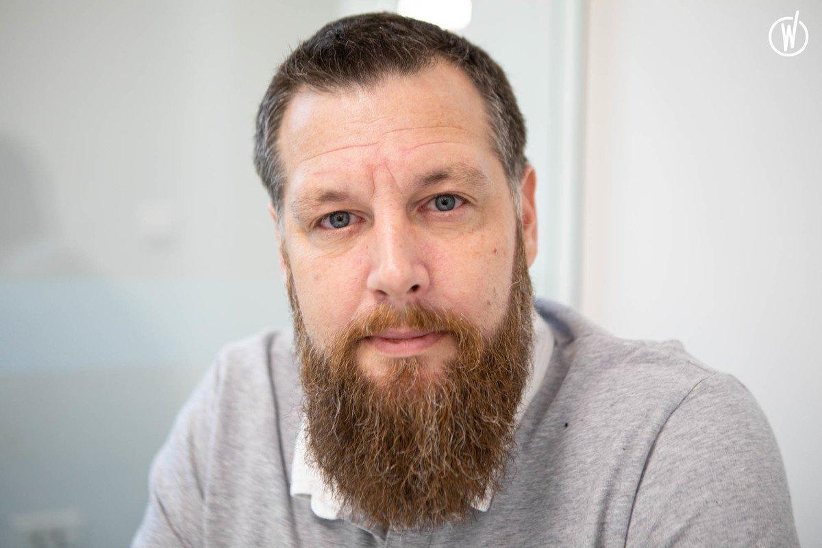 Rencontrez Matthieu, Administrateur réseau - Groupe Kalycia