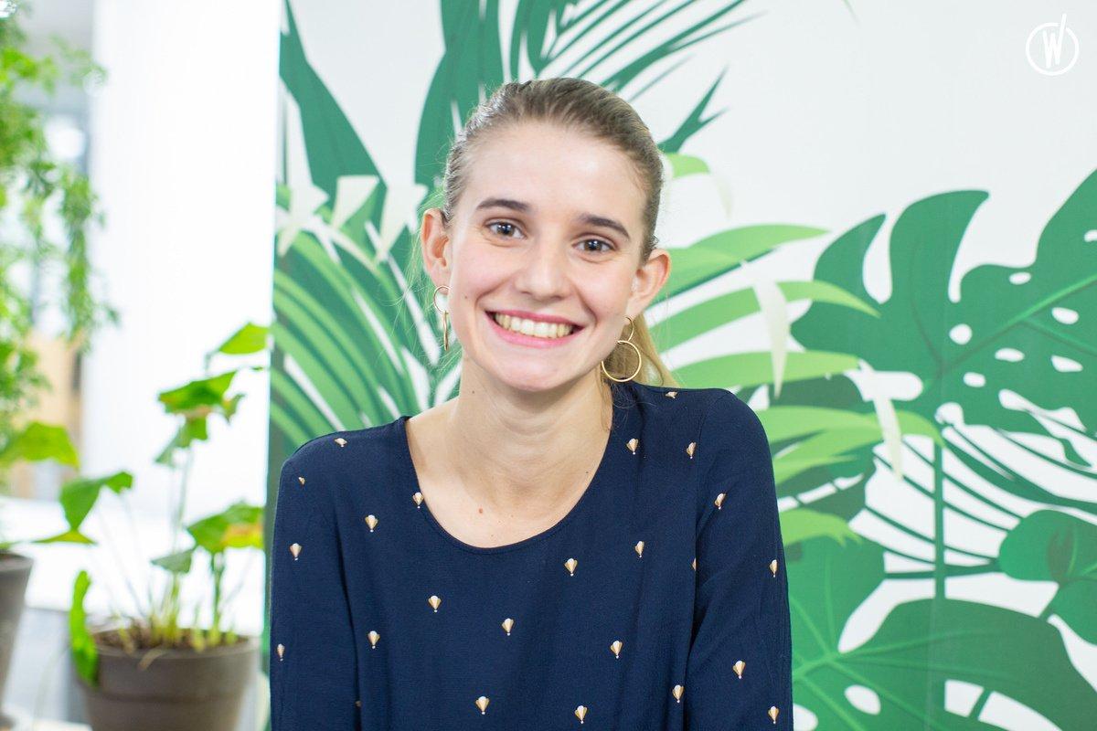 Rencontrez Eloïse, Assistante RH stagiaire - Mômji (ex Speaking-Agency)