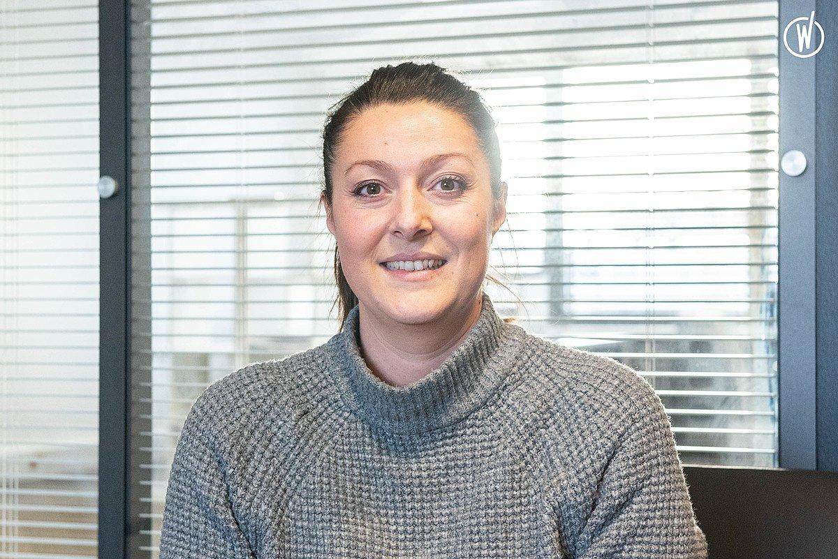 Rencontrez Aurore, Gestionnaire de dossier sinistre Auto - Groupe ADENES