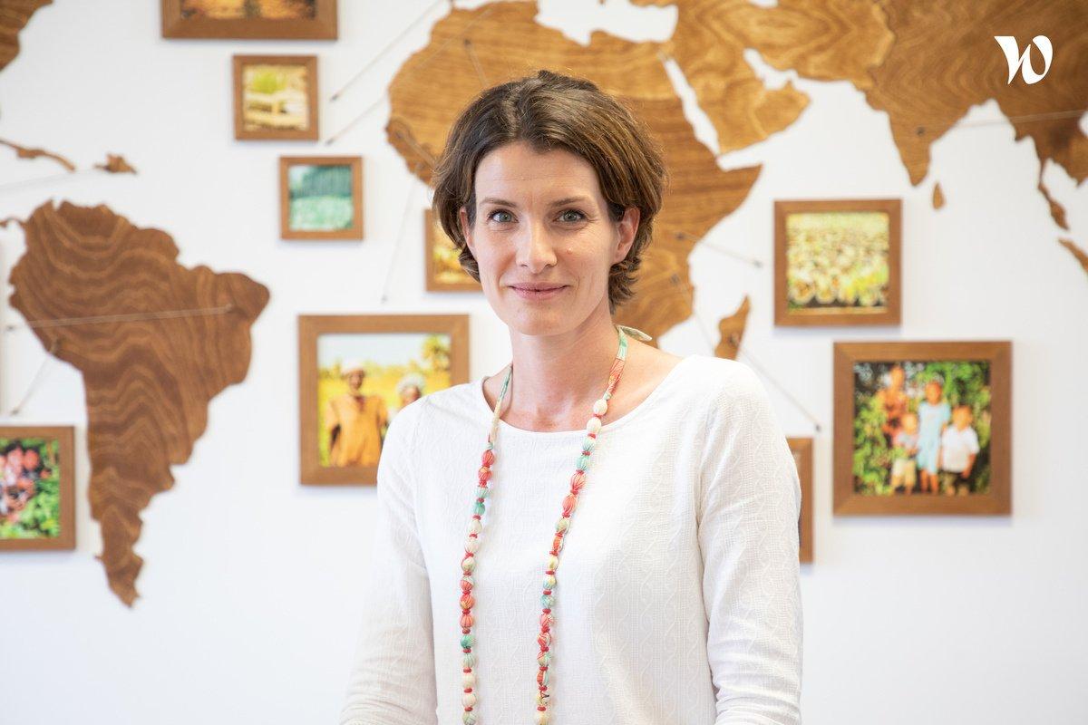 Rencontrez Virginie Coudre, Business Partnership Manager - Reforest'Action