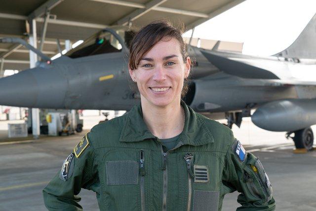 Rencontrez Commandant Claire, Pilote de chasse - armée de l'Air et de l'Espace
