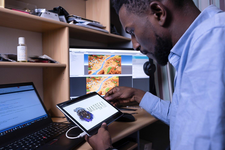 Teddy Kossoko propaguje svou rodnou Afriku pomocí videoher