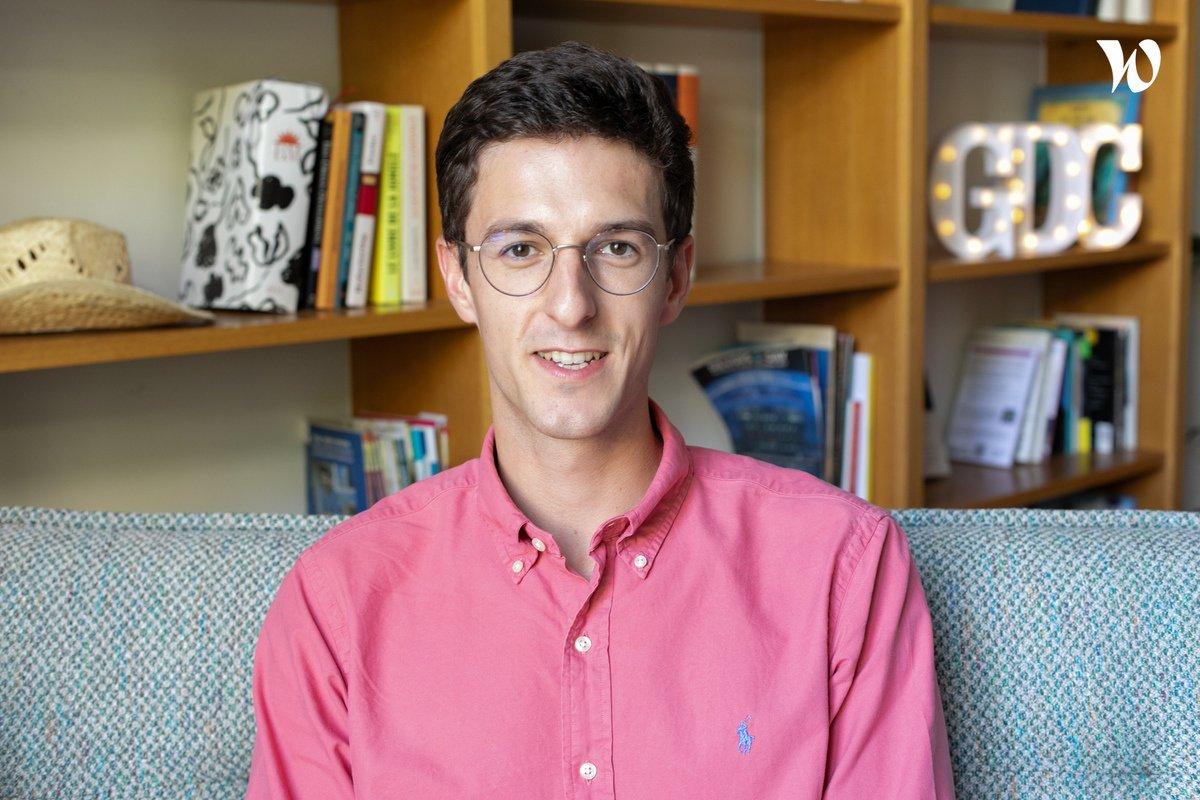 Rencontrez  Cyprien, Software Engineer Back - Gens de Confiance