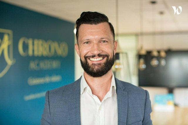 Rencontrez Marc , Co fondateur - Chronodesk