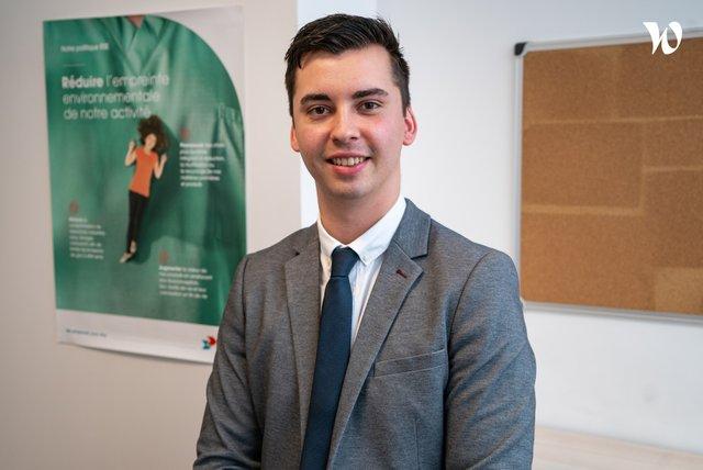 Rencontrez Bastien, Responsable du Développement Commercial - Elis