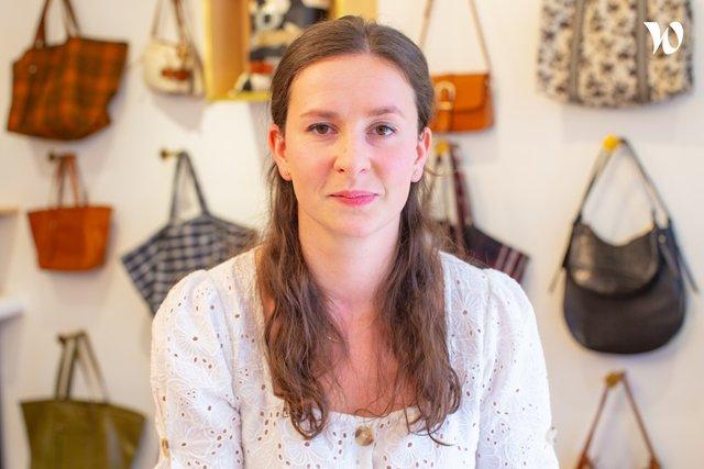 Rencontrez Justine Bertré, Responsable e-commerce - Petite Mendigote