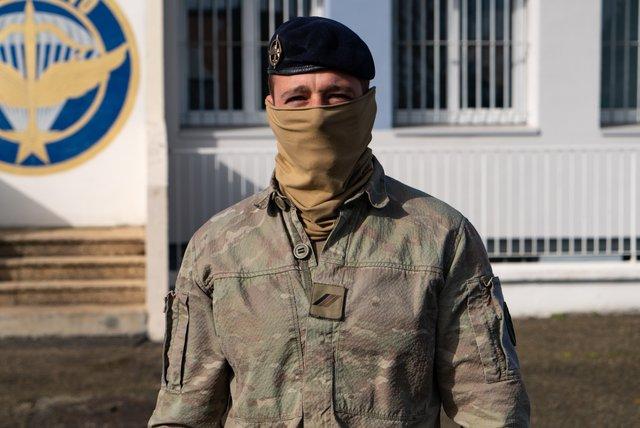 Rencontrez Caporal-Chef Joris, Commando parachutiste de l'air  - armée de l'Air et de l'Espace
