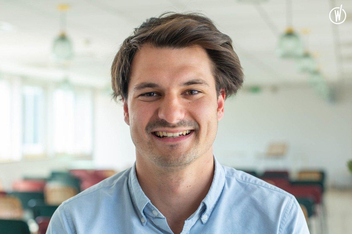 Rencontrez Simon, Business developper - Bureaux A Partager