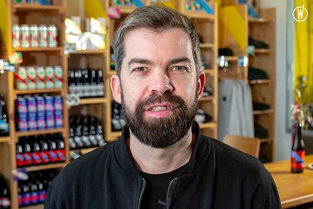 Rencontrez Sébastien, Co-fondateur - Brussels Beer Project