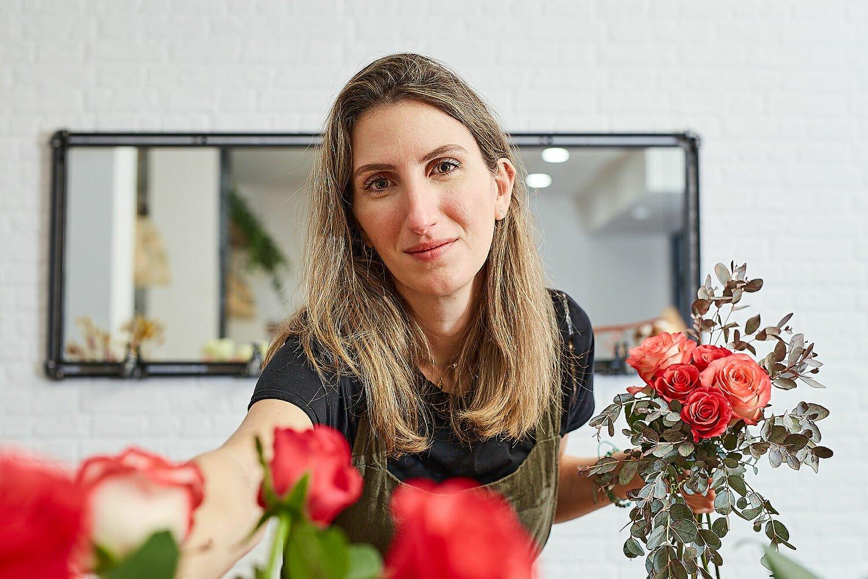Dar carpetazo a una carrera en el lujo para ser florista