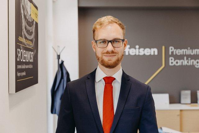 Marek Strachota, Osobní poradce a zástupce ředitele pobočky - Raiffeisenbank