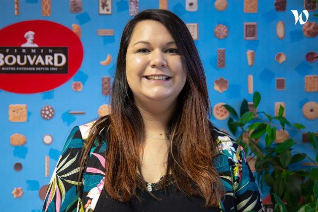 Rencontrez Emeline, Chef de produit - BISCUITS BOUVARD