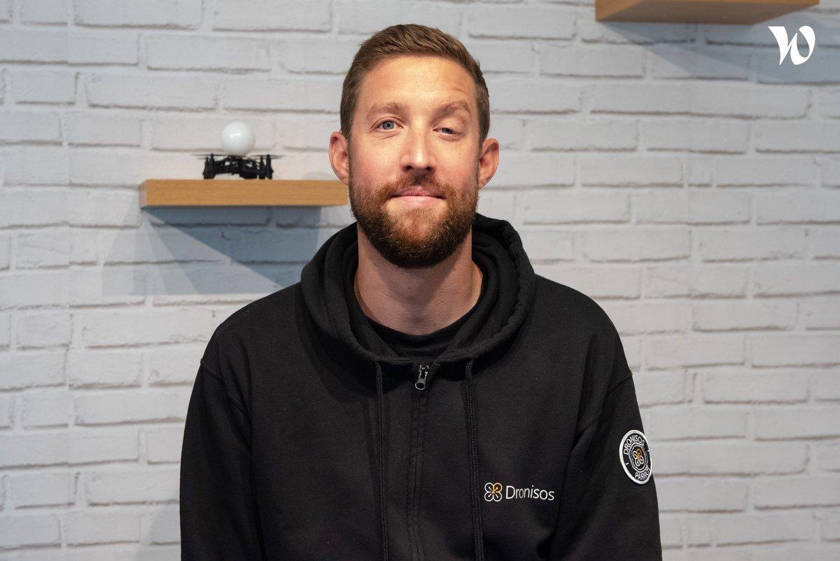 Rencontrez Jérôme, Show Manager - Dronisos