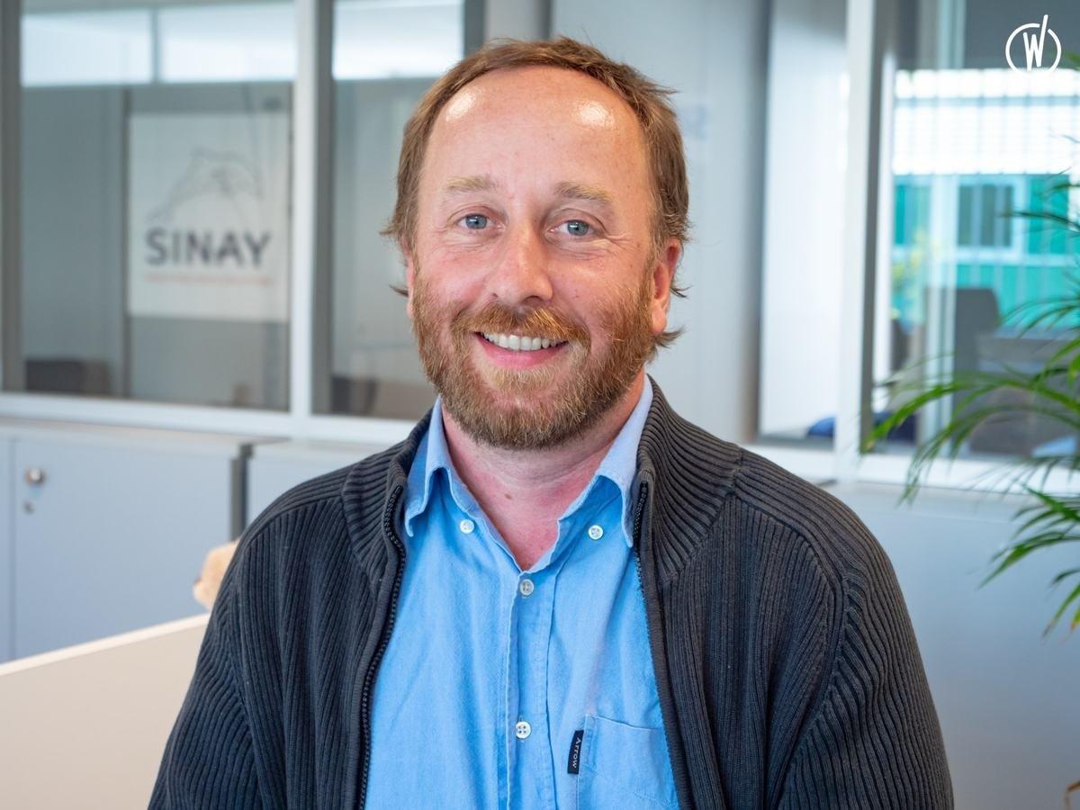 Rencontrez Pascal, Chargé d'Affaires - Sinay