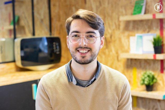Rencontrez Thomas, UX Strategist - Wiztivi