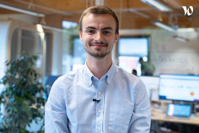 Rencontre Thibault, Designer UX UI - Les Fabricants
